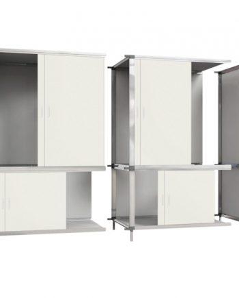 modulair uitbreidbare kweekkast