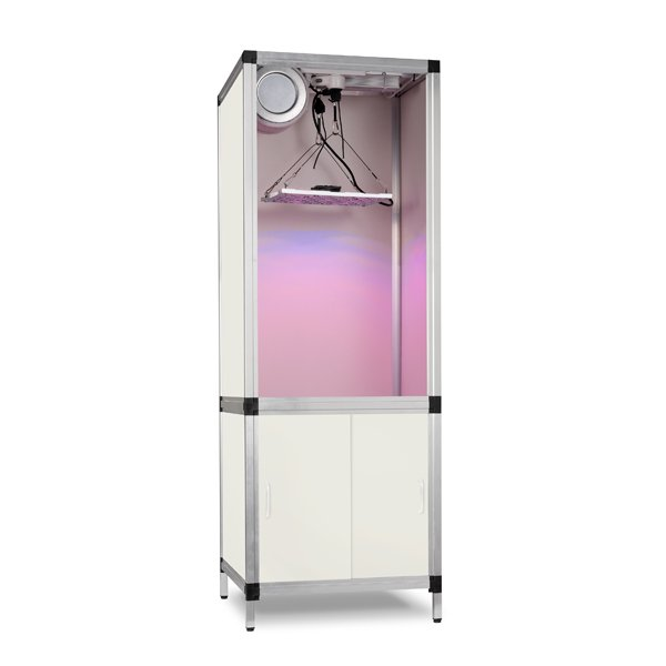 energiesparende growbox mit led lampe. Black Bedroom Furniture Sets. Home Design Ideas