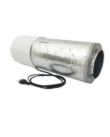 Mini fan, filter met demper