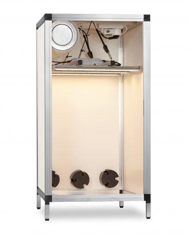 Growbox koelkastmodel met LED